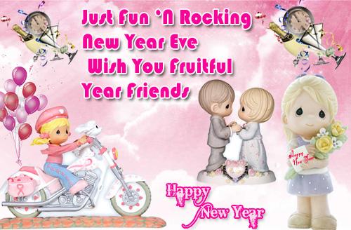 New Year Eve Card