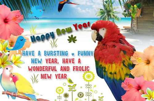 New Year Fun Card
