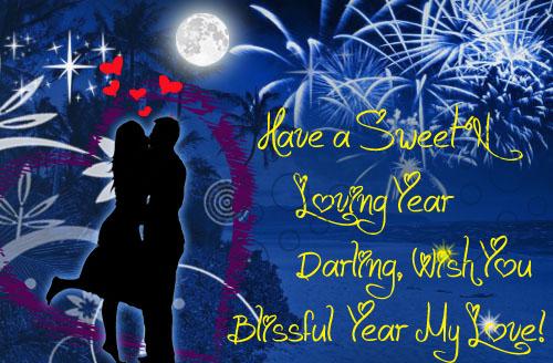 New Year Love Card