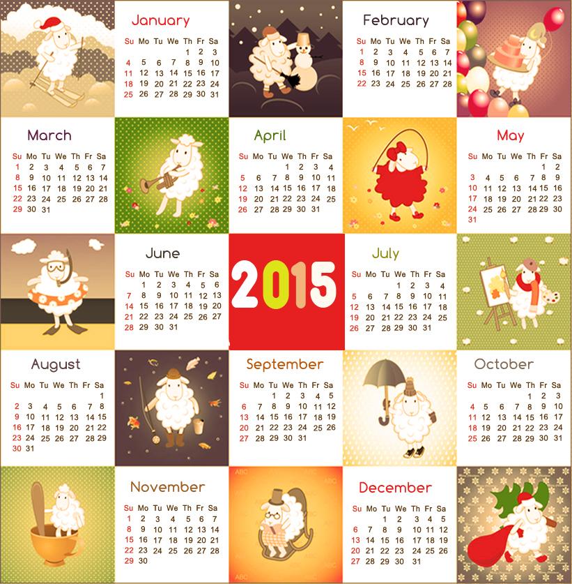 Online 2015 Calendar